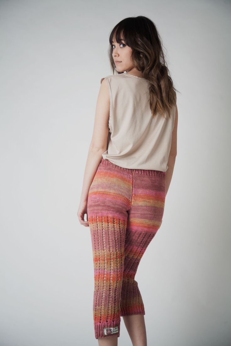 Hand-Knit Lacey Leggings, Stockings, Hand Dyed, Cotton, Lace Leggings, Hand-Knit Pants, Knitted Pants, lingerie, pajama bottoms, streetwear by LittleRenCreations on Etsy https://www.etsy.com/listing/182389996/hand-knit-lacey-leggings-stockings-hand