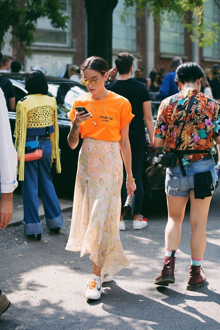 Milan Fashion Week's Street Style Motto? More Is More+#refinery29 | Curated …
