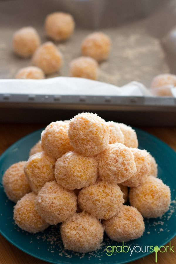 Apricot and coconut balls  500g dried apricots 1 can condensed milk 2 ½ cups coconut Extra coconut for rolling  (can replace condensed milk with milk powder)
