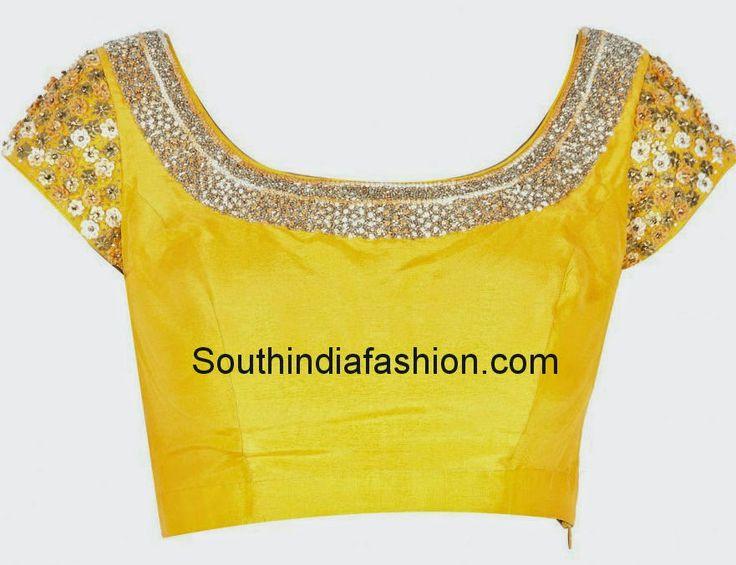 últimos diseños blusa cuello espalda profunda