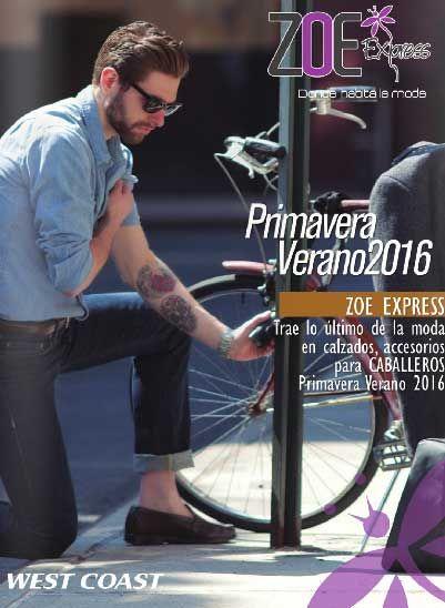 Zapatos Zoe catalogo virtual verano 2016