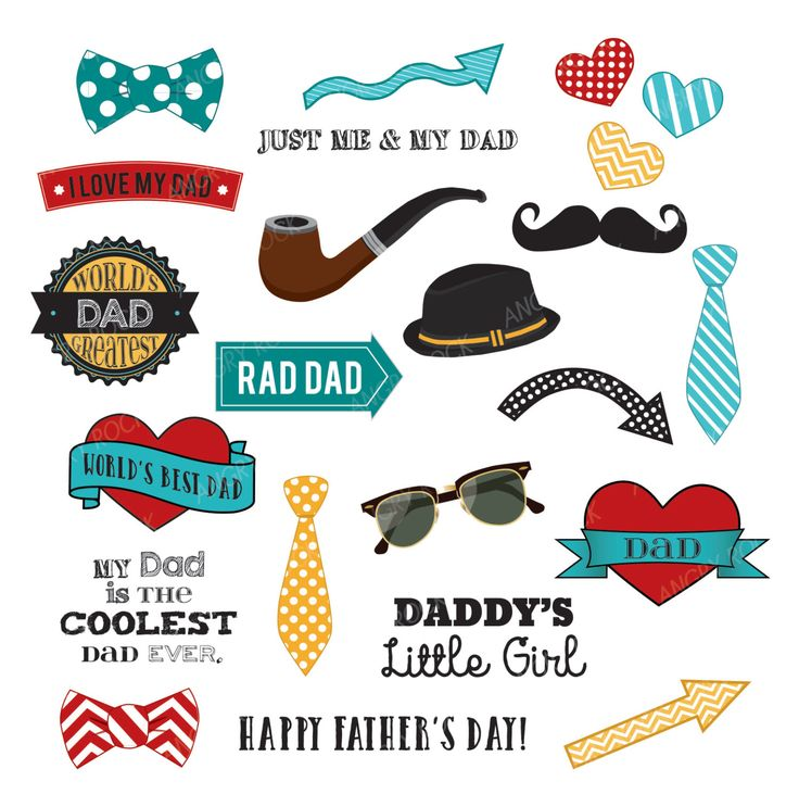 Best Dad Ever Father's Day Clip Art by AngryRockDesign on Etsy https://www.etsy.com/uk/listing/222333976/best-dad-ever-fathers-day-clip-art