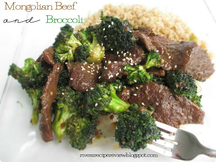 Mongolian Beef and Broccoli.  Takes just like PF Changs!  The sauce is awesome!