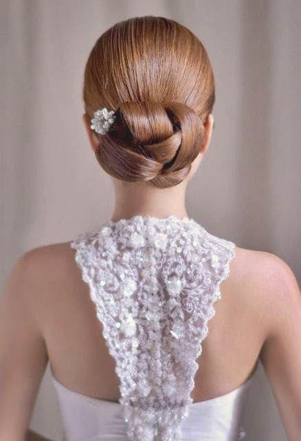 Capri Jewelers Arizona  ~ www.caprijewelersaz.com Stunning wedding hairstyle