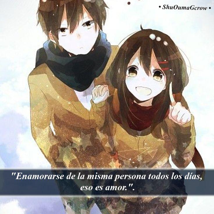 Enamorarse de la misma persona.. #ShuOumaGcrow #Anime #Frases_anime #frases