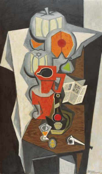 Jean Dominique Antony Metzinger (1883~1956) | Theorist Of Cubism