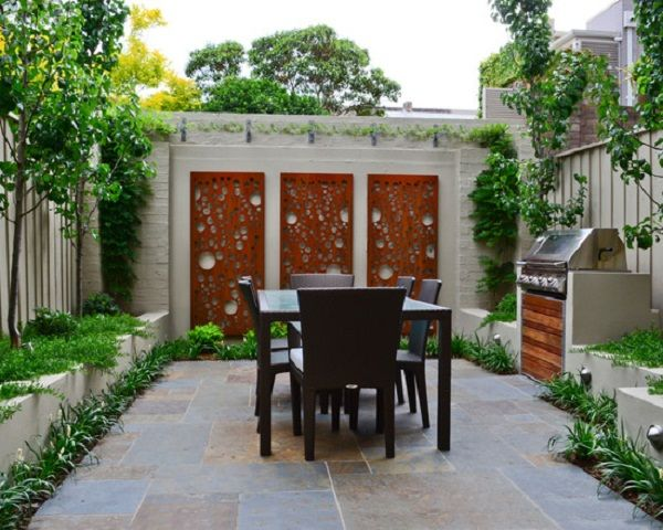 13 asian patio ideas for gorgeous backyard outdoor wall - Outdoor Wall Designs