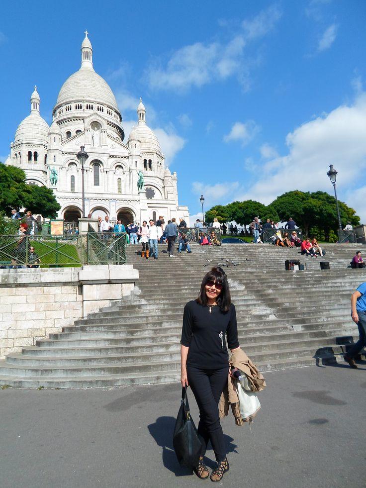 Montmartre, Sacre Coeur, Paris 2013