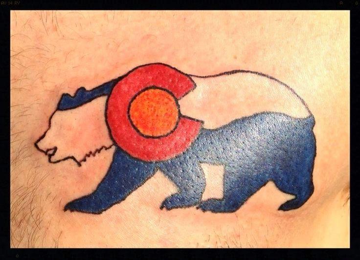 14 tattoo designs bear anchor tattoo traditional for California flag tattoo designs