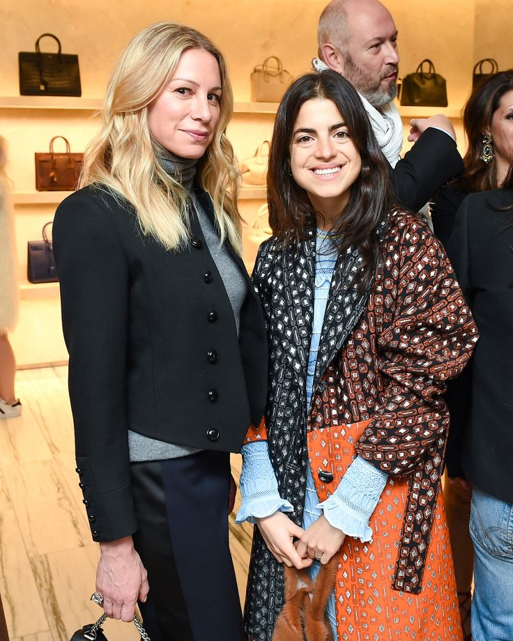 Jennifer Fisher and Leandra Medine
