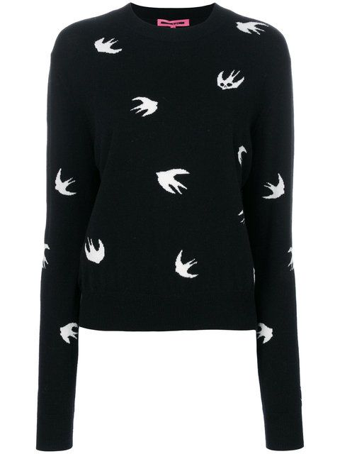 Shop McQ Alexander McQueen swallow pullover.