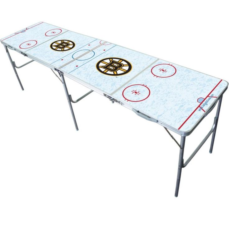 Wild Sports Boston Bruins 2' x 8' Tailgate Table, Team
