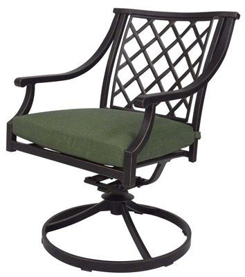 Agio International AAQ09901K01 Swivel Patio Rocker   Quantity 2 Agio  Http://www. RockersPatiosWrought Iron