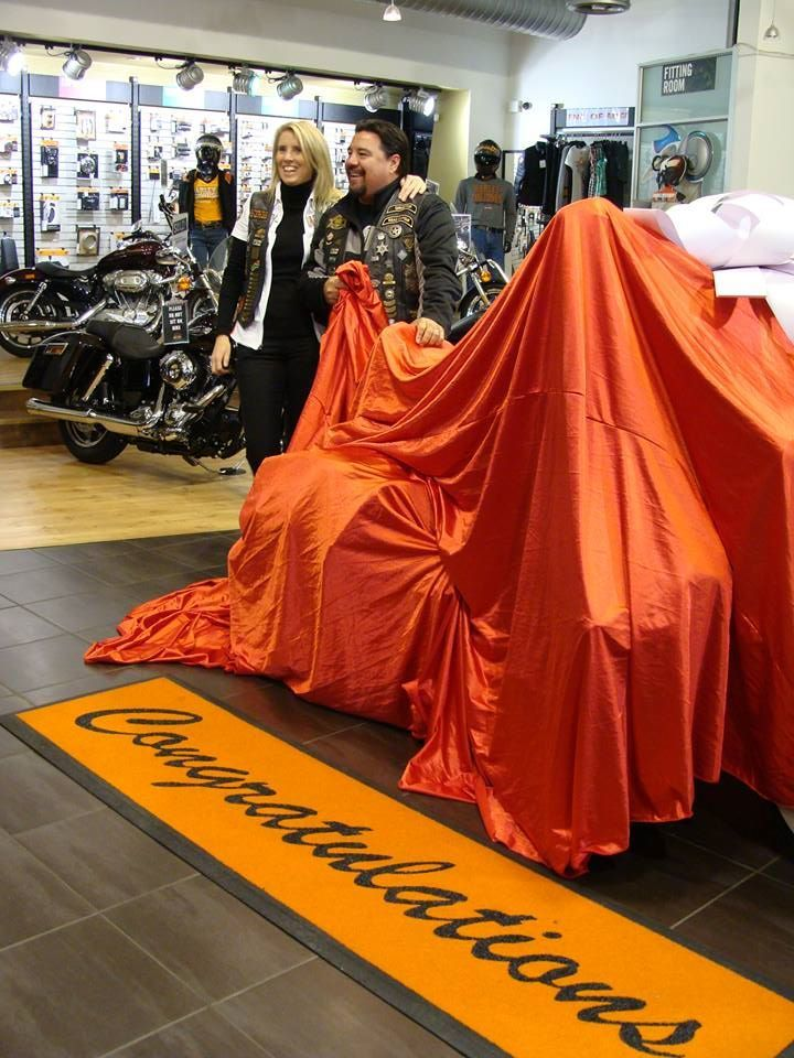 It started with a Garage Party with new HOG members to the Big Five Chapter - Harley Davidson Big Five