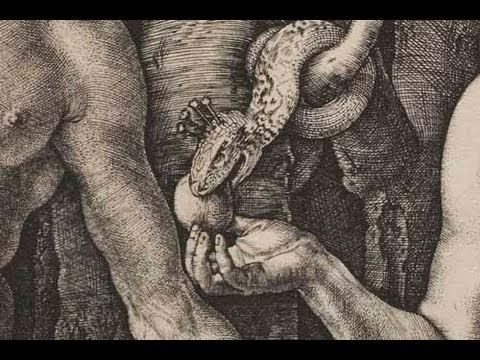 Adam and Eve, Albrecht Dürer, 1504. Clark Art Institute video, 2:14.