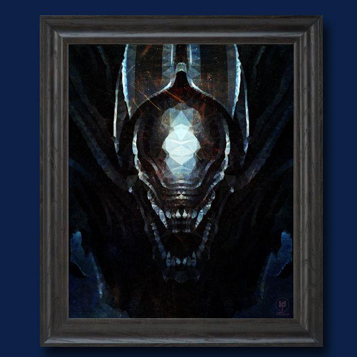 Hommage à H. R. Giger - Tribute to H. R. Giger #Alien