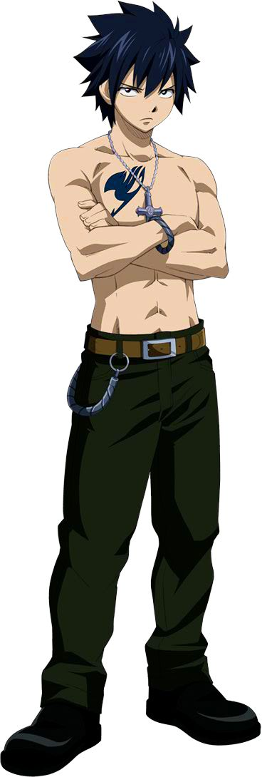 Gray Fullbuster - Fairy Tail he kinda reminds me of zak baggans from ghost adventures