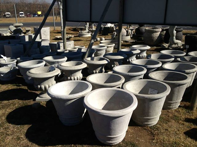 Huge selection of pots to choose from