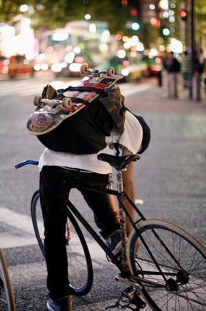 fixie & skate | Shared from http://hikebike.net