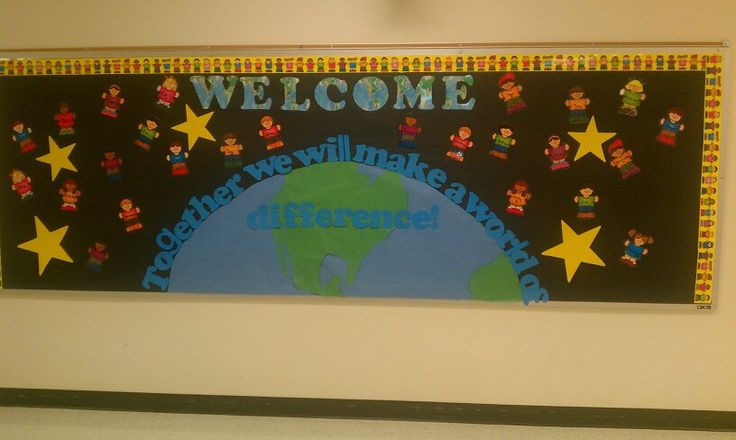 Multicultural Classroom Decor ~ Creative multicultural bulletin board by ms rangel