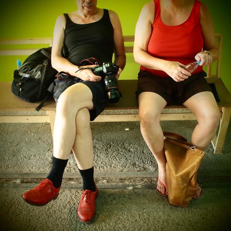 This photograph taken by Martin Parr really shows how relaxed the photograph is, two ladies legs, not dressed up and having a photograph of them unexpectedly. This is something I'm really going to take on board. People in shots don't need to be their whole selves as you can say a lot about people from a portion of them.