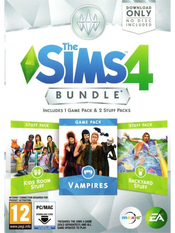Игра The Sims 4 Bundle Pack 3 Vampires за PC
