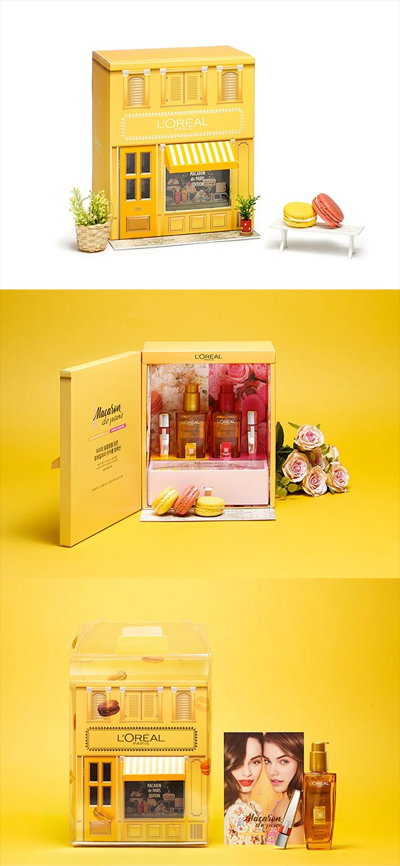 LOREAL - MACARON DE PARIS COLLECTIONVIP & PRESS KIT. If you want to customize a packaging, visit our website: www.unifiedmanufacturing.com