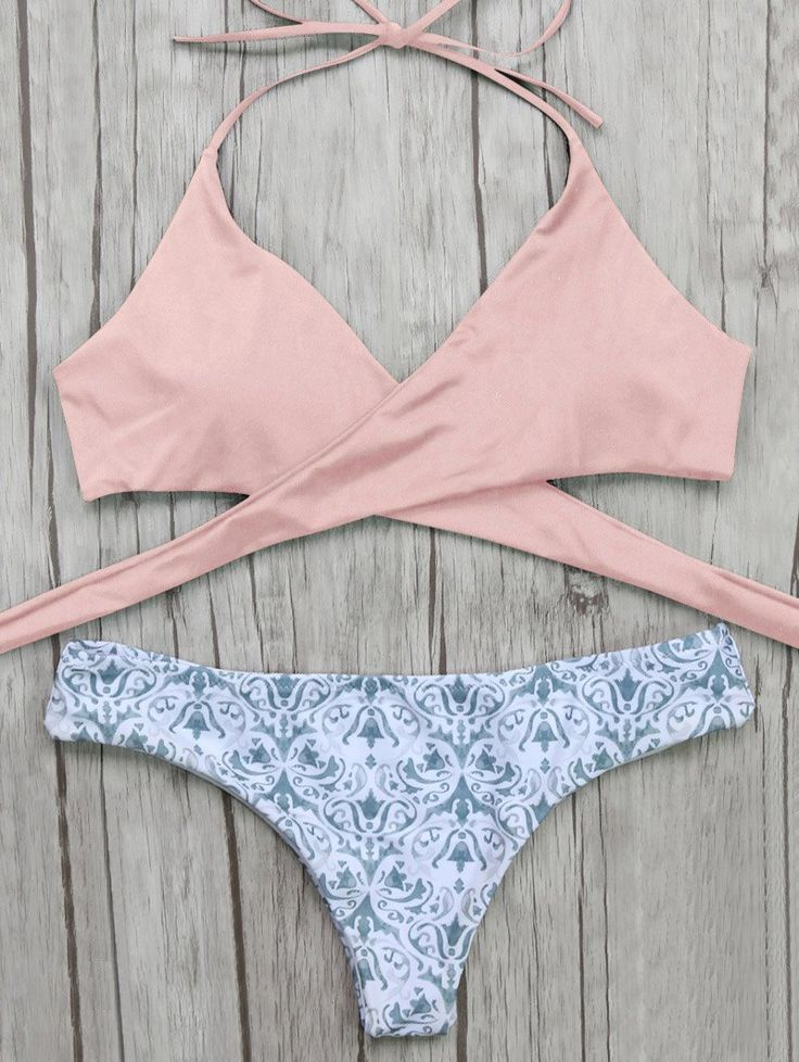 Wrap Tie Bikini Top and Baroque Print BottomsFor Fashion Lovers only:80,000+ Items • New Arrivals Daily • Affordable Casual to Chic for Every Occasion Join Sammydress: Get YOUR $50 NOW!