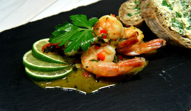 Shrimp in Thai