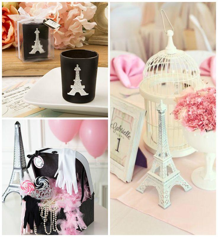 Festa decorada para tema Paris infantil