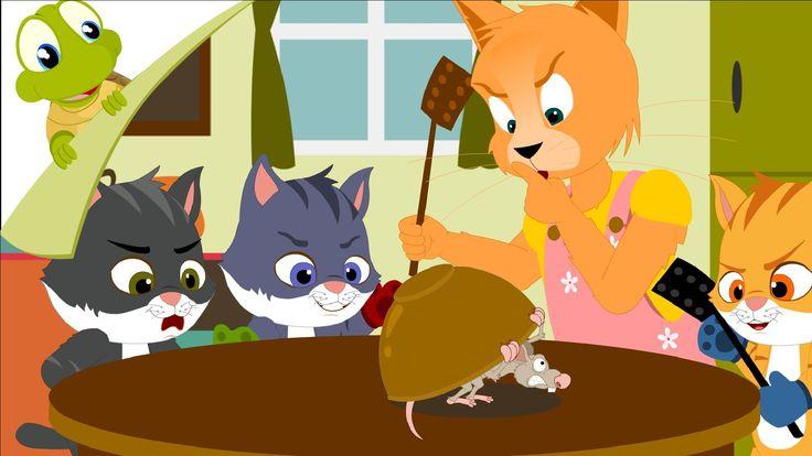 Three Little Kittens Kids Nursery Rhymes Little Kittens Baby Songs