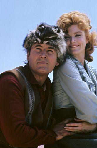 """Daniel Boone"" Fess Parker, Patricia Blair"