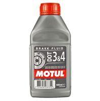 Υγρά φρένων Motul 100% συνθετικά DOT3 & 4 500ml.