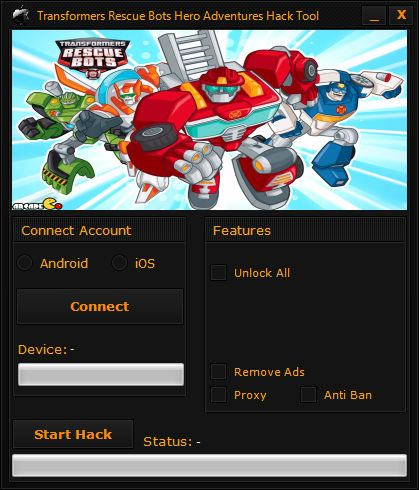 Transformers Rescue Bots Hero Adventures Hack Tool
