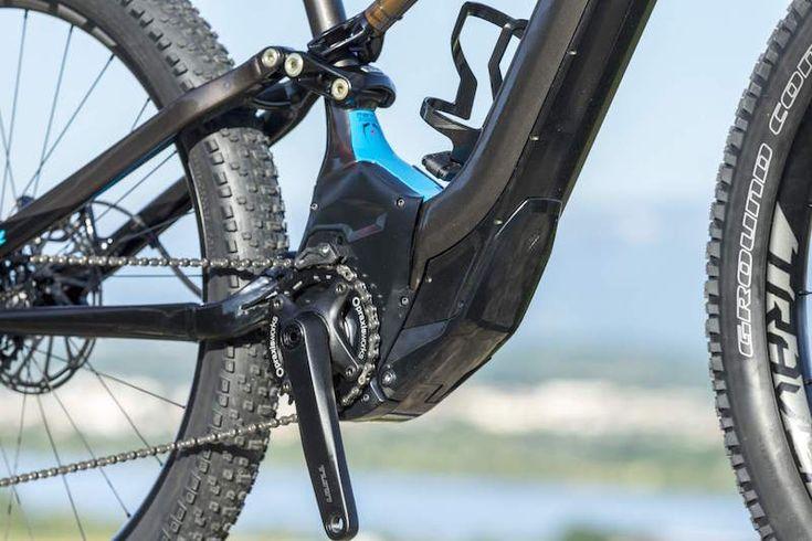 Specialized Levo electric mountain bike motor