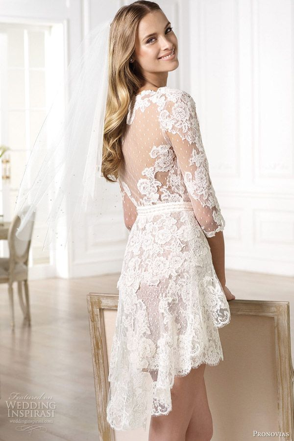 Atelier Pronovias 2014 Wedding Dresses | Wedding Inspiration. Seems like a good reception party dress