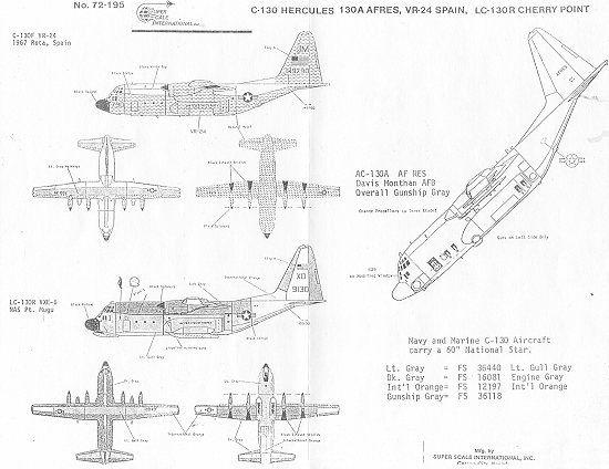 Superscale 72-195: C-130 Hercules