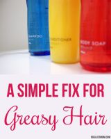 Here's a Simple Fix for Greasy Hair – Idealist Mom - shampoo + baking soda