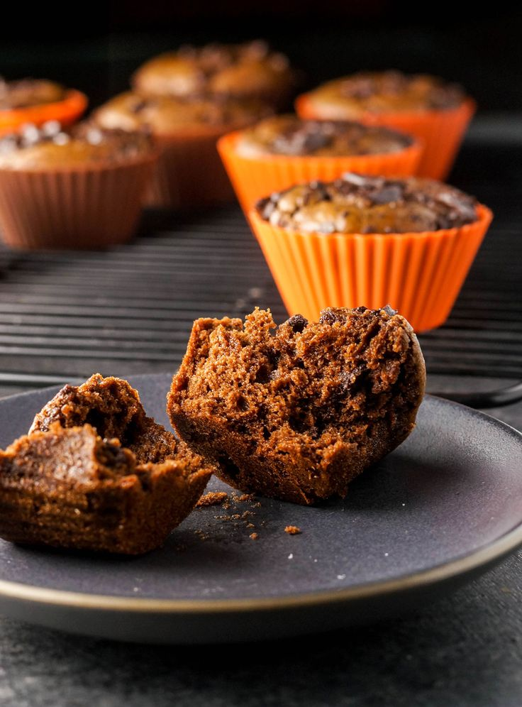 I didn't think chocolate and pumpkin would necessarily be a delicious combination, but boy, was I wrong. These double chocolate muffins don't have a very noticeable pumpkin flavor, but adding pumpkin puree to the mix ...