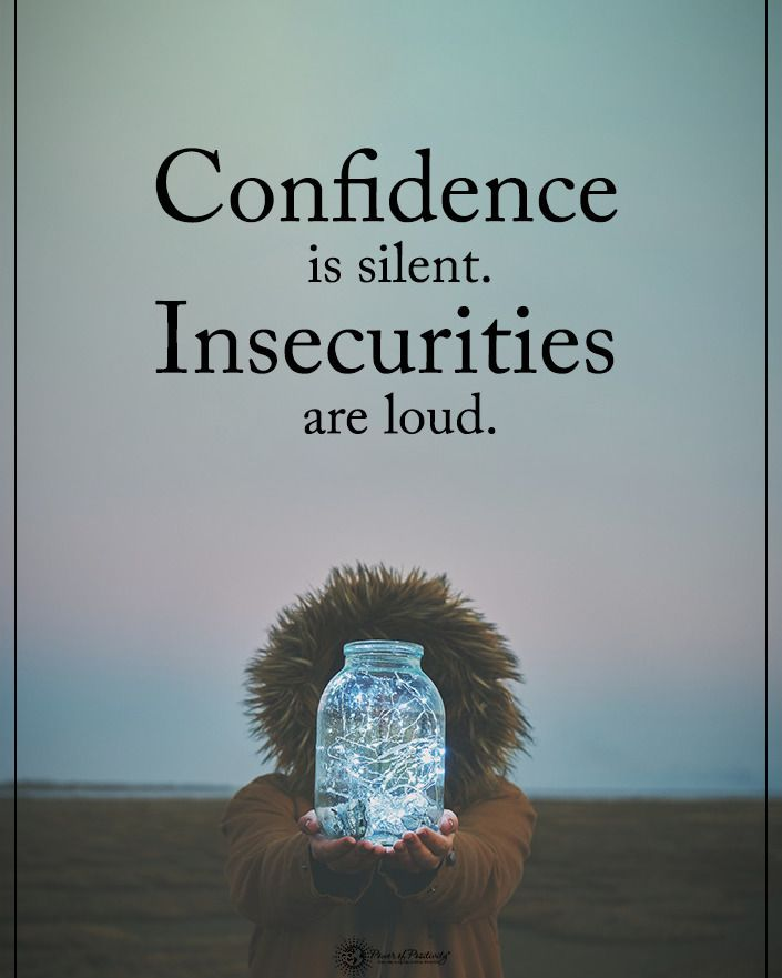 "11.4k Likes, 109 Comments - Positive + Motivational Quotes (@powerofpositivity) on Instagram: ""Tag someone who needs to read this. Confidence is silent. Insecurities are loud.…"""