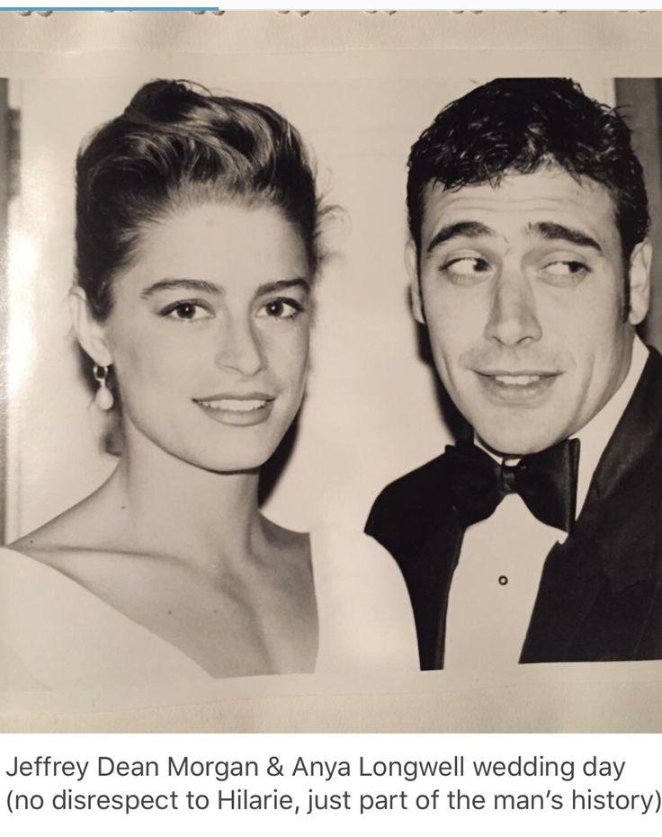 Anya Longwell And Jeffrey Dean Morgan Married In 1998 Celebrity Weddings Pinterest
