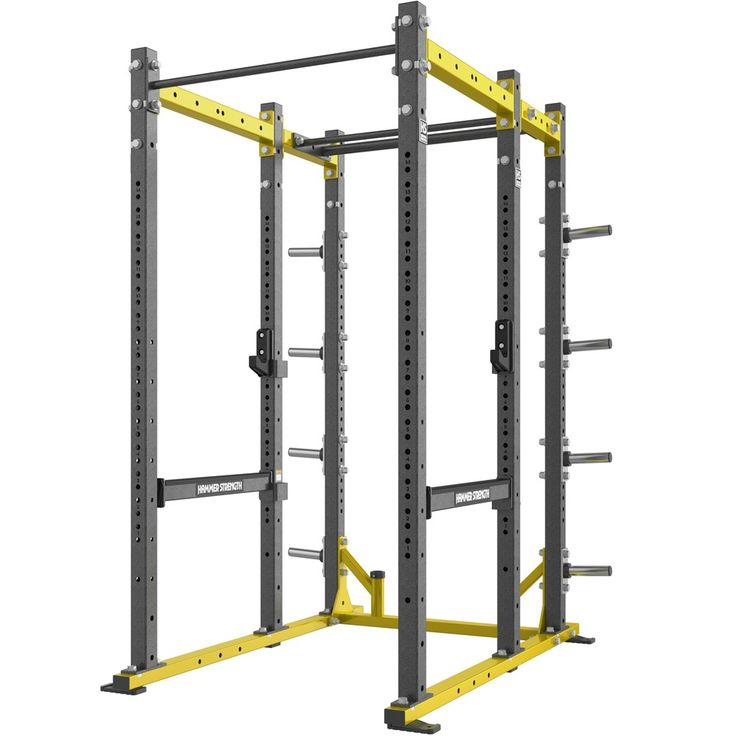 #homegym Hammer Strength Athletic Series Power Rack: A large training area provides the versatility needed to fit into… #fitnessequipment