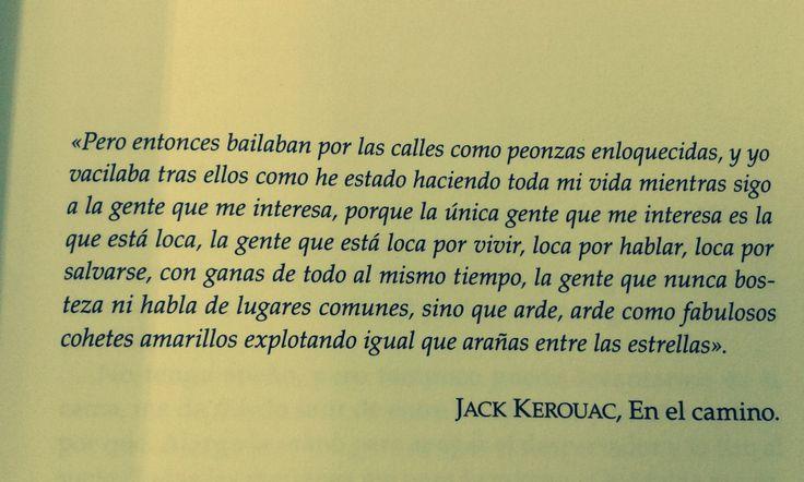 jack kerouac, en el camino