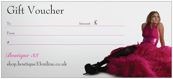 Give someone a special gift. Vouchers available from one pound upwards. For use in the shop and online.