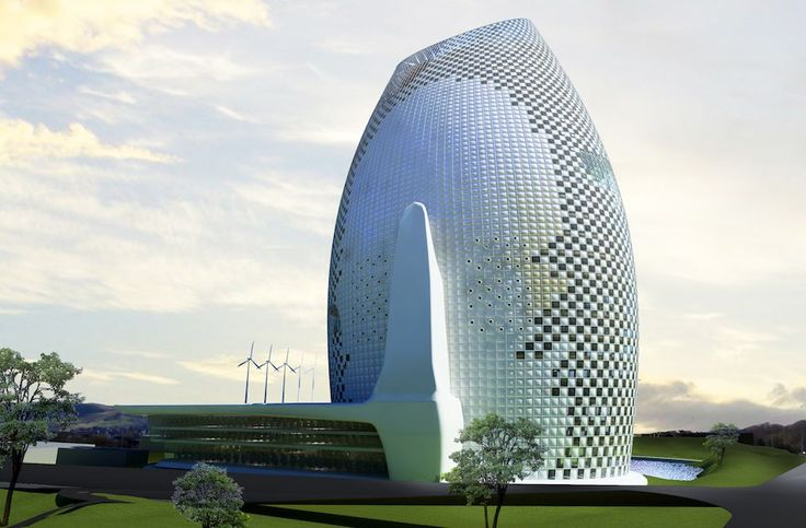 Eco-tech Highrise farming, research facilities and office, Guangxi, China