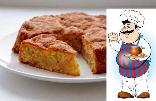 Очень вкусный и полезный тыквенный пирог из овсянки