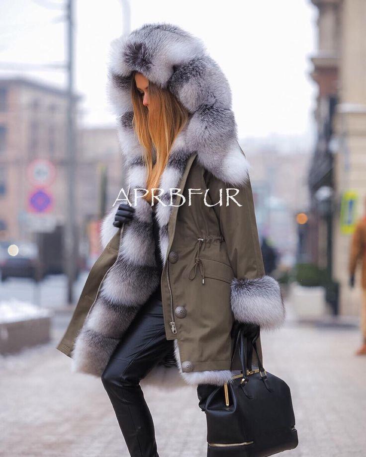 APRB fur lined parka