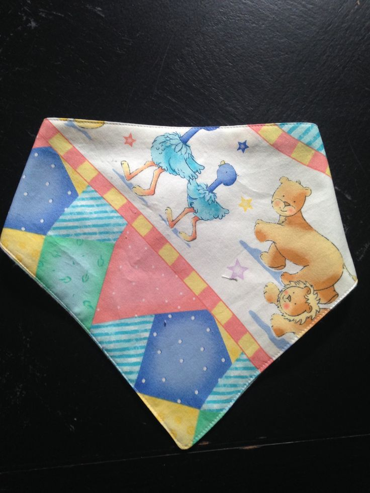 Nursery Rhymes Bandana Bib