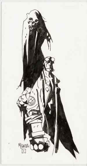 Hellboy/Search//Home/ Comic Art Community GALLERY OF COMIC ART