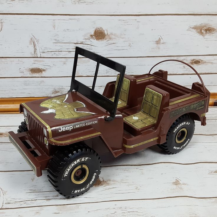 """Vintage 12"""" Plastic Jeep Golden Eagle Toy by Empire - 1973 - FREE SHIPPING! #Jeep #Jeep"""